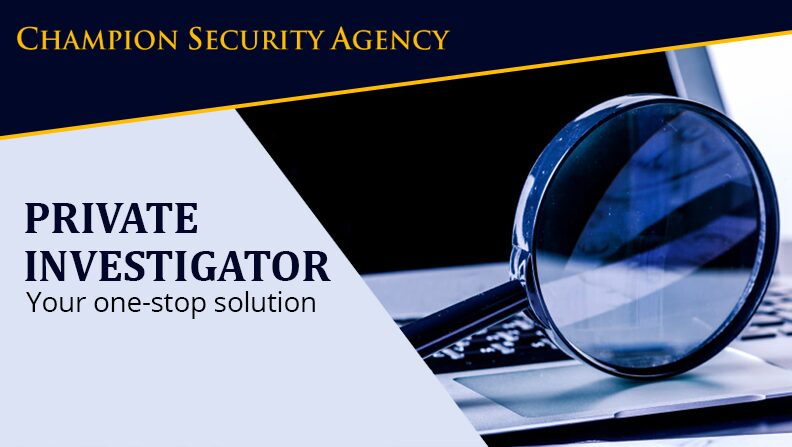 Private Investigator – Your One Stop Solution